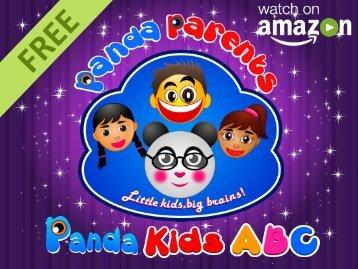 Panda Kids ABC Series - Watch on Amazon FREE