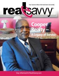 Real e. Savvy: Volume 3, Issue 1