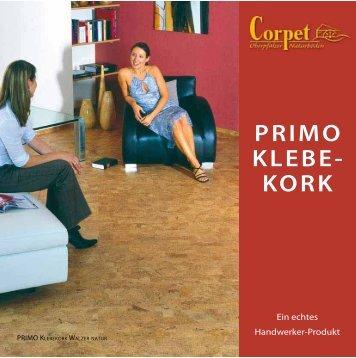 primo klebekork - Decke-wand-boden.de...
