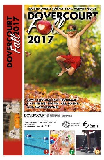Dovercourt Fall 2017 Program Guide