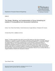The Design, Modeling, and Implementation of Group Scheduling for ...