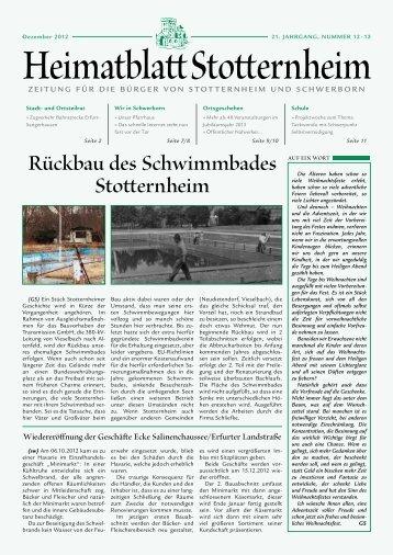 Dezember 2012 - Kirchspiel Stotternheim