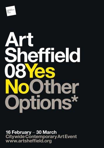 16 February - Sheffield Contemporary Art Forum