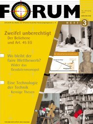 Heft 2, 2004 - Forum
