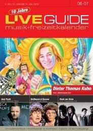 Dieter Thomas Kuhn - Livegui.de