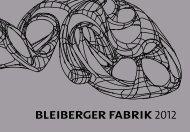 neue komPetenzen - Bleiberger Fabrik