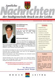 Amtliche Nachrichten - Folge 271 (785 KB) - Stadtgemeinde Bruck ...