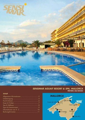 sensimar aguait resort & spa, mallorca