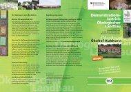 Ökohof Kuhhorst - Oekolandbau.de