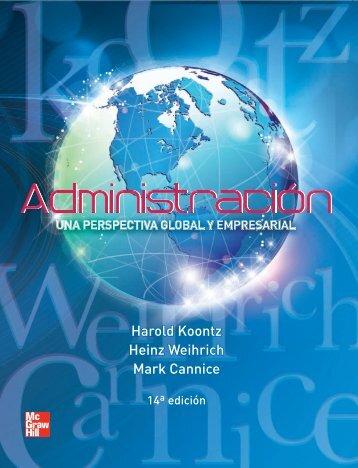 Administracion una perspectiva global y empresarial [Libro] (Harold Koontz et al) (1)