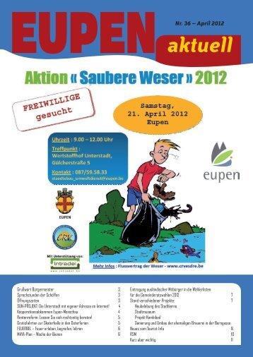 aktuell Nr. 36 - Stadt Eupen