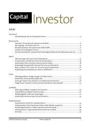 Capital Investor 50/2009