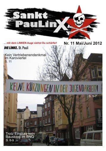 Nr. 11 Mai/Juni 2012 St. Pauli - DIE LINKE auf St. Pauli