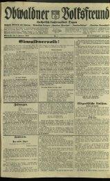 Obwaldner Volksfreund 1934