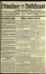 Obwaldner Volksfreund 1935