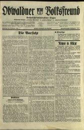 Obwaldner Volksfreund 1942