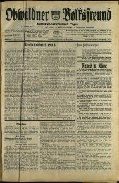 Obwaldner Volksfreund 1943