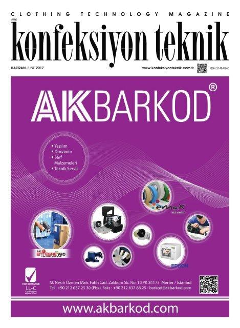 Konfeksiyon Teknik Dergisi Haziran 2017 Sayısı