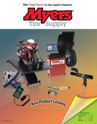 Myers Tire Supply New Products Catalog