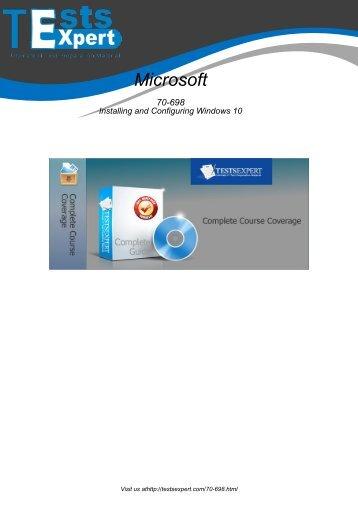 70-698 Latest Certification