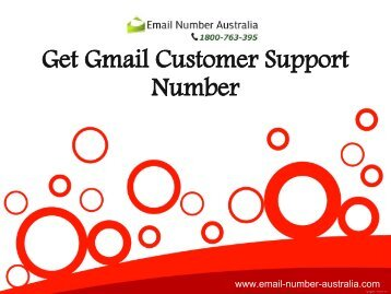 Get Gmail Customer Support Number