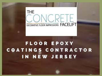 Basement Metallic Epoxy Flooring Contractors