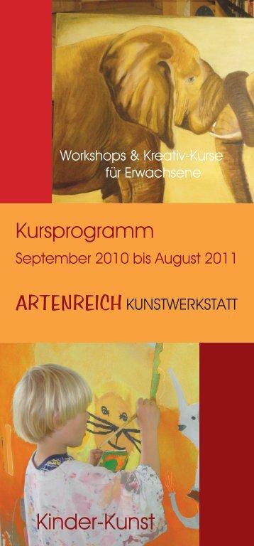 Bildhauerkurse - Artenreich Kunstwerkstatt