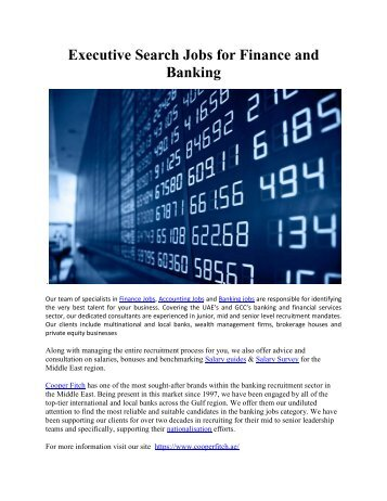 Financial Services and Banking
