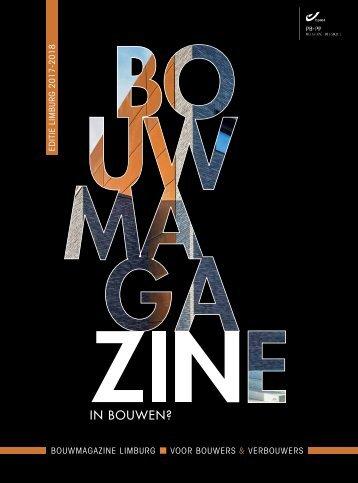 BouwMagazine LIMBURG 2017-2018