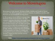 Commercial and Office Moving Toronto | Professional Commercial Movers