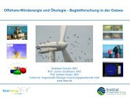 Forschungsprojekt – IMKONOS - Wind Energy Network