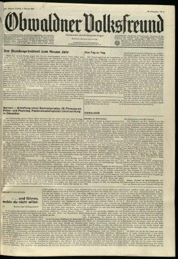 Obwaldner Volksfreund 1969