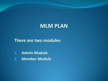 Career Plan MLM Software, Sunflower Plan MLM Software, Generation Plan MLM Software