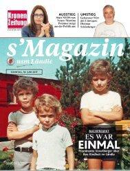 s'Magazin usm Ländle, 18. Juni 2017