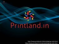 Playing Cards - Buy Custom Playing Cards Games Online in India at Printland