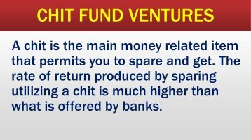 Chitty Companies, Chitty Groups, Chit Fund Regulation, Chitty Finance, Chit Fund Agreement