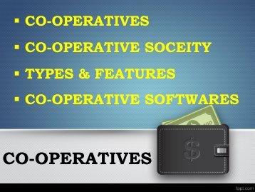 Cooperative Society Accounting, Credit Society, Multistate Credit Cooperative, Society Management