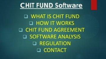 Chit Fund Format, Chit Fund Information, Chit Management System, Chit Fund Finance