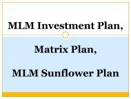 Forced Matrix Plan, Gift Helping Plan, Affiliate MLM, Real Estate MLM, Matrix Plan, MLM Sunflower