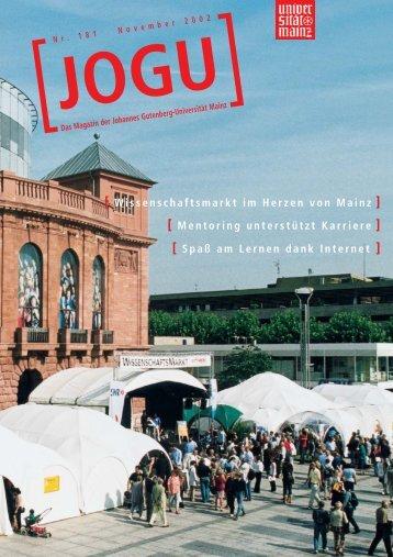Campus international - Johannes Gutenberg-Universität Mainz