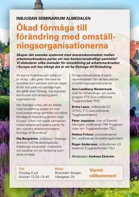 Almedalen programblad 2017