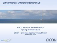 SOF - Schwimmendes Offshore-Fundament - Wind Energy Network