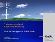 EnBW - Wind Energy Network
