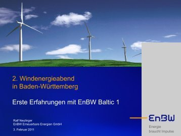 EnBW - Wind Energy Network
