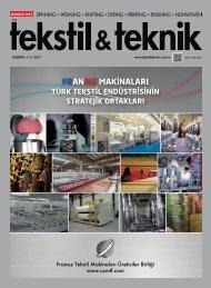 Tekstil Teknik Dergisi Haziran 2017 Sayısı