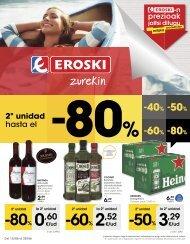 Folleto Hiper Eroski del 15 al 28 de Junio 2017 ( Euskera-Castellano )