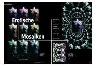 Erotische Mosaiken - Typen-Graphie