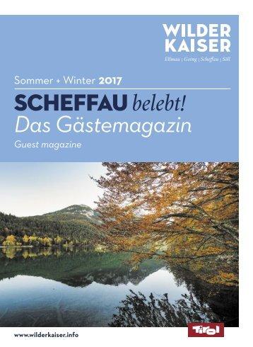 Gästemagazin Scheffau 2017
