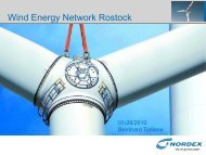 Nordex Conf Call - Wind Energy Network
