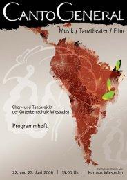 Programmheft Musik / Tanztheater / Film - Gutenbergschule ...